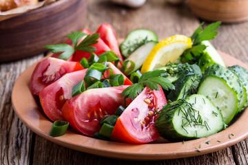 Fresh vegetables, favorite summer side dish