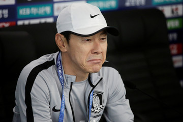 World Cup - South Korea Press Conference