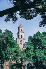 Church steeple - park