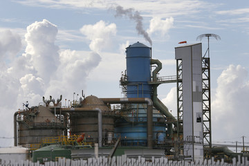 A Westlake Chemical Corporation facility is pictured in West Lake