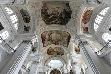 Basilika St. Martin in Weingarten, Landkreis Ravensburg, Baden-Württemberg, Deutschland, Europa