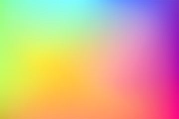 Gradient colorful vector background