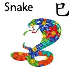 Eastern Zodiac Sign Snake