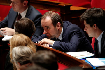 French Minister attached to the Minister of Ecological and Inclusive Transition Sebastien Lecornu attends the questions to the government session at the National Assembly in Paris