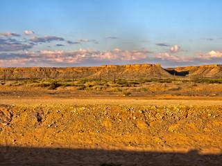 Homolite hills in central Namibia.
