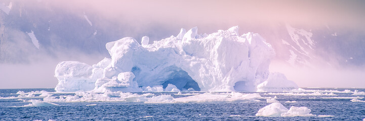 iceberg - banner Fototapete