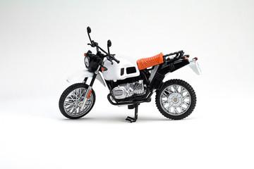 Toy enduro motorcycle