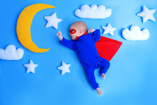 little baby superhero