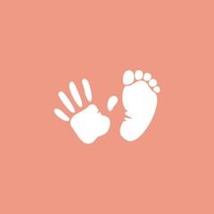 Отпечатки руки и ноги