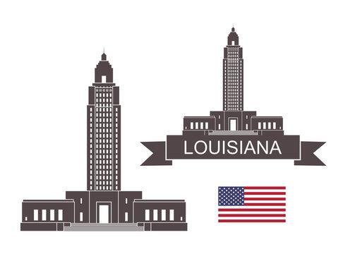 State of Louisiana. Louisiana State Capitol