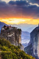 Monastery of the Holy Trinity i in Meteora, Greece