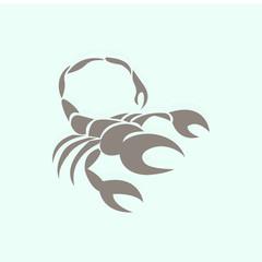 scorpio vector icon