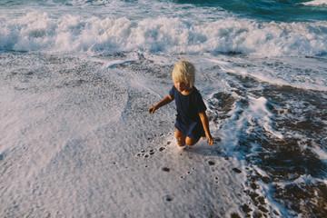Escape the wave