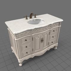 Classic vanity sink