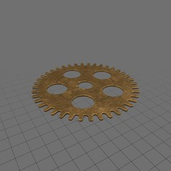 Clock gear 1