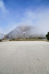 Basketball Court, Morro Bay, CA