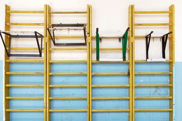 Gymnastics wall bars