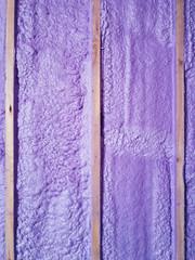 Home renovation - spray foam installation