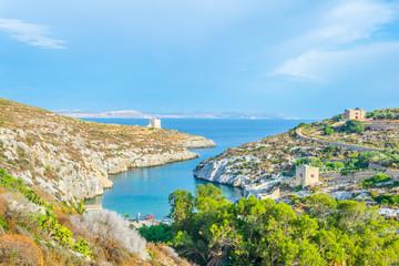 Fototapete - Mgarr ix-Xini bay on Gozo, Malta
