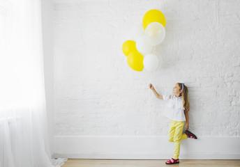Portrait of Cute Girl Preschooler