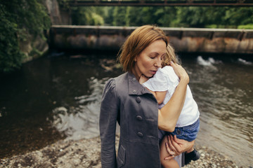 Maternal embrace