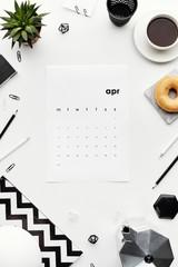 Creative calendar composition