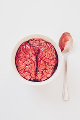 Eating brain
