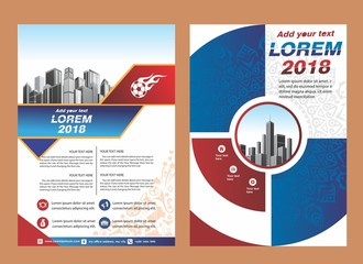 cover, brochure, layout, template design for sport event