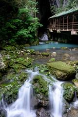 Akiyoshi cave entrance