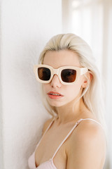 Attractive woman in sunglasses