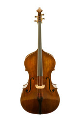 Viola isolated with clipping path