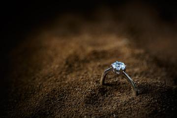 A precious lady's ring