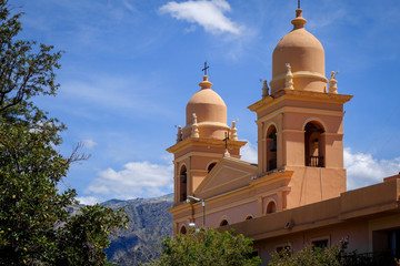 Cafayate church, Salta, Argentina