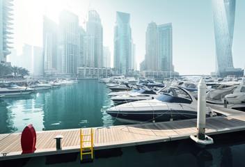 Fototapete - Dubai Marina, United Arab Emirates