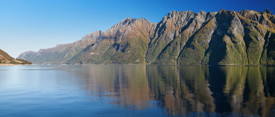 The Hjorundfjord from Store Standal