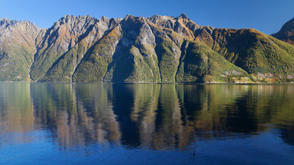 The Hjorundfjord and the Sunnmore Alps