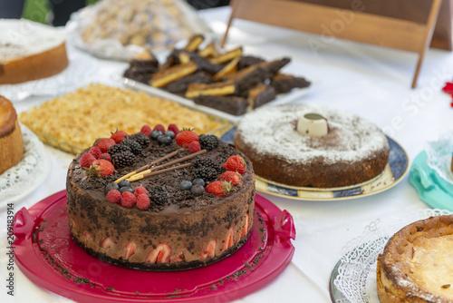 Torten und Kuchen Buffet\