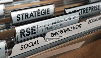 Stratégie Corporate. Responsabilité Sociétale des Entreprises, RSE