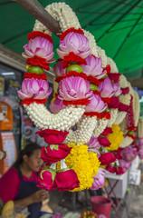 Exterior decoration of Sri Mahamariamman Temple, Bangkok, Thailand