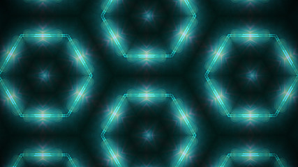 Abstract geometric kaleidoscope colored radiant background, color texture.
