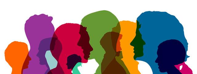 Gruppe Business Leute als Team Konzept