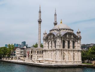 Beautiful View of Bosphorus Coastline in Istanbul