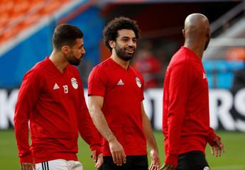 World Cup - Egypt Training