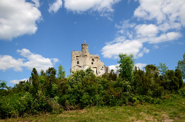 Mirow castle in Poland