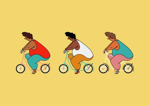 Women Cycling