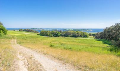 Landschaft auf dem Mönchgut der Insel Rügen