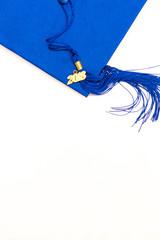 2018 Blue Grad Cap and Tassel