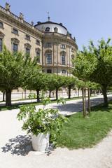 Würzburg-Hofgarten und Residenz