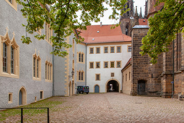 District of the city Meissen in Saxony Germany