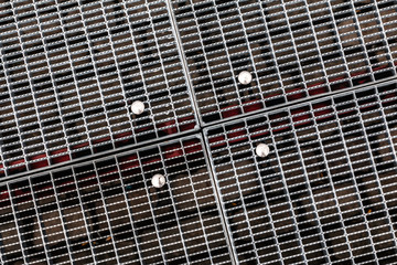 Stahlgitter aus Streckmetall